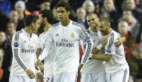 El Madrid arrodilla al Liverpool y se afina de cara al 'Clásico'