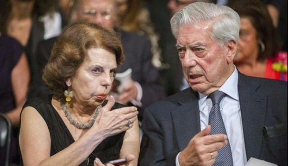 Mario Vargas Llosa y Patricia Llosa, legalmente divorciados en España