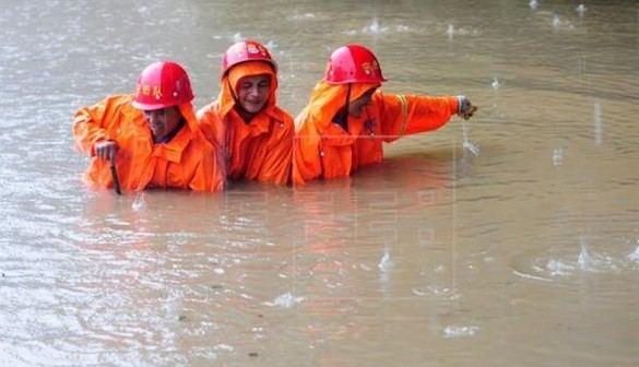 Más de un centenar de muertos en las inundaciones en China