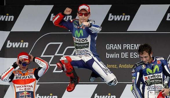 Lorenzo regresa a la élite para ganar con autoridad en Jerez
