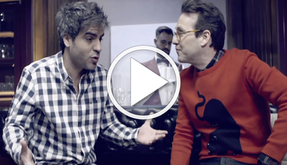 Presentan el primer 'spot' de los Goya con Joaquín Reyes y Ernesto Sevilla
