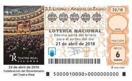 Un día especial en las conmemoraciones del bicentenario del Teatro Real
