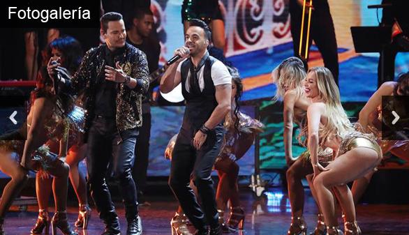Despacito, de Luis Fonsi y Daddy Yankee, arrasa en los Grammy Latino