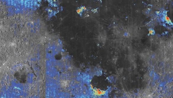 Descubren nuevas evidencias de agua en la Luna