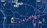 Mapa para disfrutar del festival LuzMadrid: 22 instalaciones lumínicas