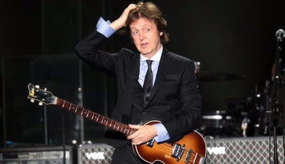 Paul McCartney asegura que dejó los porros para dar ejempo a sus nietos