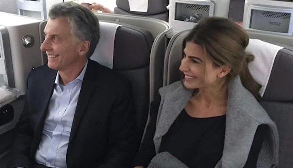 Macri llega a Madrid en su primera visita de Estado a España