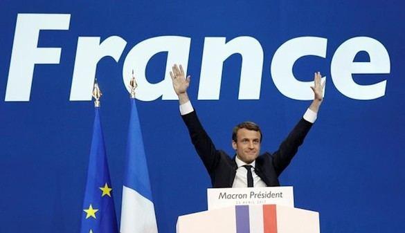 Las Bolsas y el euro celebran la victoria de Macron