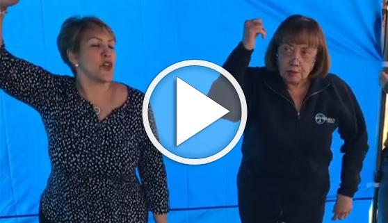 Vídeos virales. La madre de J. Lo arrasa con su baile