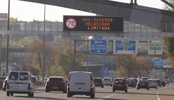 Se prolonga hasta el sábado el protocolo de contaminación y las limitaciones al tráfico en Madrid