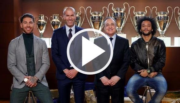 El Real Madrid felicita la Navidad tras ser goleado en el Clásico