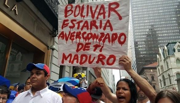 Multitudinaria cacerolada contra el régimen de Maduro