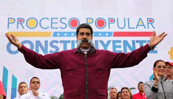 Maduro a Trump: 'Saca tus manos cochinas de aquí. Go home'