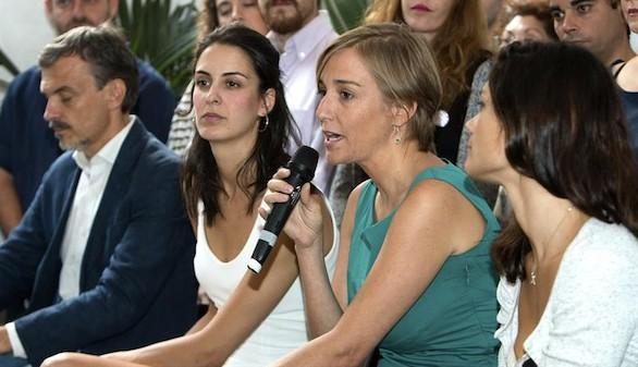 Rita Maestre y Tania Sánchez, molestas con la