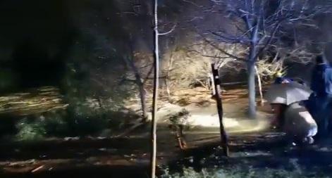 Tres fallecidos en Málaga y Madrid por el temporal de lluvia y nieve