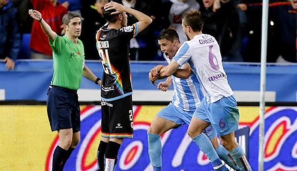 Málaga y Rayo firman tablas en un golpe de suerte malaguista |1-1