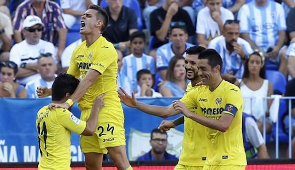 El Villarreal vence a un Málaga sin recursos |0-2