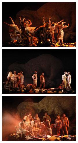 'Escenas de caza', de Malditos Compañía, en el Teatro Pavón Kamikaze
