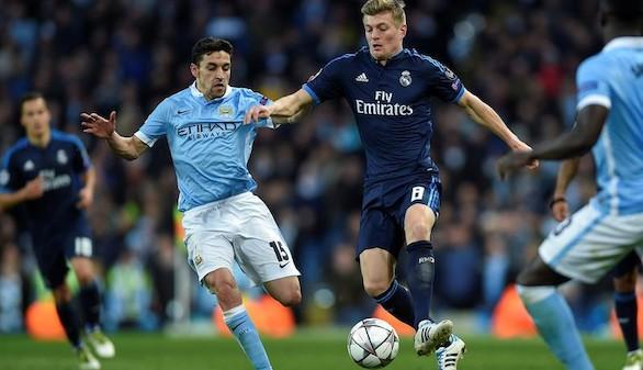 Un Madrid mermado se trae un empate de Manchester  0-0