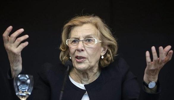 La jurista Manuela Carmena, candidata de Ahora Madrid al Ayuntamiento