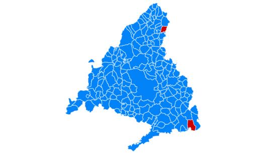 Ayuso tiñe Madrid de azul: gana en 21 distritos y en los feudos de la izquierda