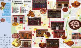 Nueva guía ilustrada de tabernas y restaurantes centenarios de Madrid