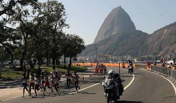 Sumgong entrega a Kenia su primer oro en maratón femenino