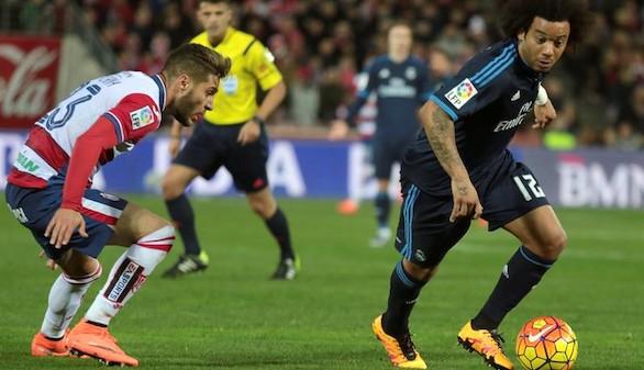 Marcelo, ko por una lesión en el hombro derecho