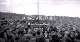 Imagen de la web creada para la difusión de la manifestación, lamarchadelcambio.info.