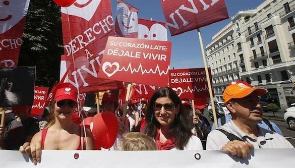 La Marcha por la Vida pide que las mujeres escuchen el latido de su bebé