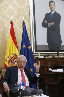 Margallo: Mas es perfectamente consciente de que no hay 'ninguna salida' en el camino a la independencia