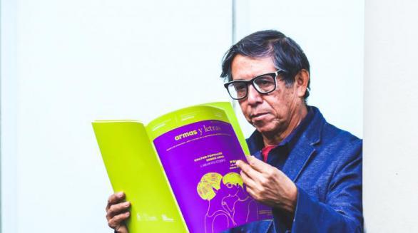 Margarito Cuéllar recibe el Premio Juan Ramón Jiménez de Poesía