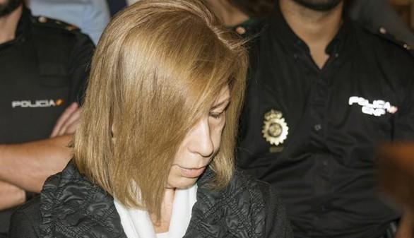 Nueva pena para Munar: declarada culpable de soborno sin atenuantes