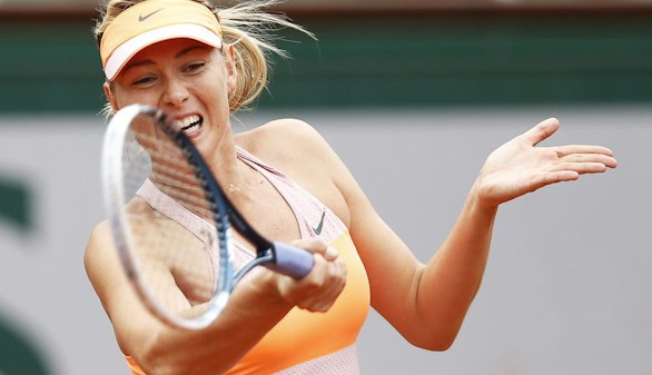 Sharápova podrá volver a las pistas en abril de 2017