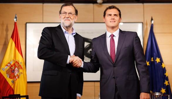 Reunión decisiva Rajoy-Rivera ante el riesgo de nuevas elecciones