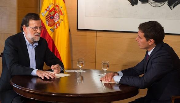 Rajoy acepta las condiciones planteadas por Ciudadanos