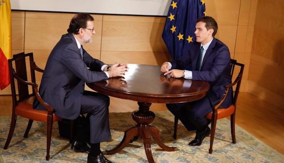 Segundo intento de Rajoy y Rivera para desbloquear la situación