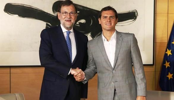 La reunión de Rajoy con Rivera marca el futuro del Gobierno