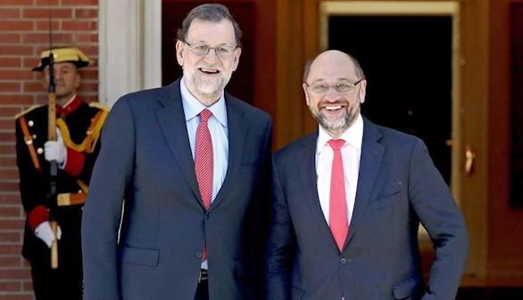 Schulz desliza que no conviene una sanción a España