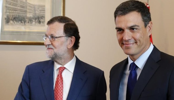 Rajoy llamará a Sánchez cuando el acuerdo entre el PP y C's tome forma