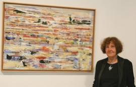La pintora Marina Olivares muestra su obra en A través del espacio