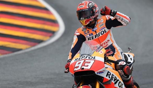 Pura estrategia de Márquez para ganar en el GP de Alemania