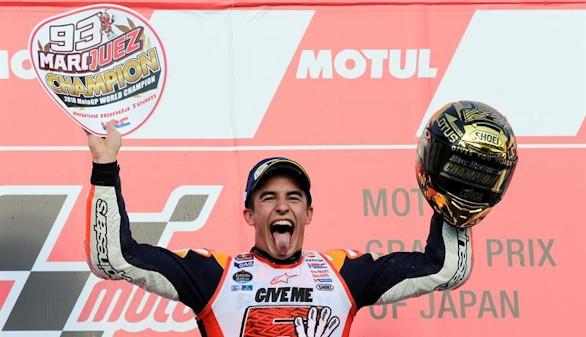 Marc Márquez, campeón del mundo por tercera vez