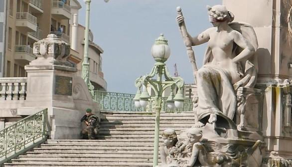 Un hombre mata a dos personas con un cuchillo antes de ser abatido en Marsella