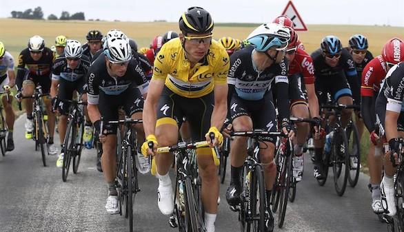 Tour de Francia: Stybar gana en plena caída del líder, Nibali y Quintana