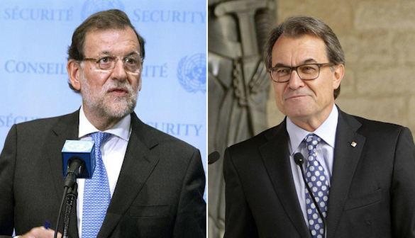 Rajoy contesta a Mas: