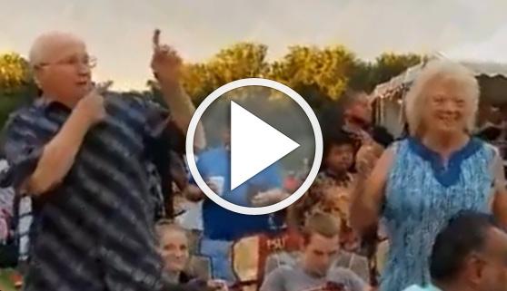Vídeos virales. La edad no importa si se rebosa ritmo