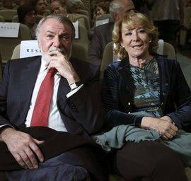 Aguirre quiere rodearse de figuras significativas del PP durante su campaña. Efe