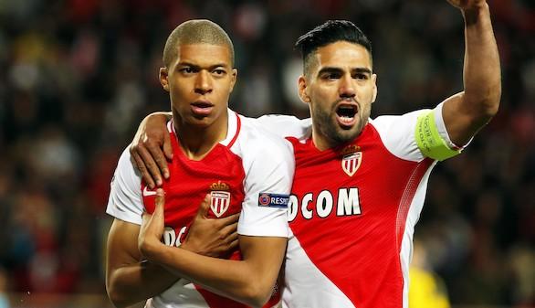 Mbappé y Falcao confirman las semifinales para el Mónaco |3-1