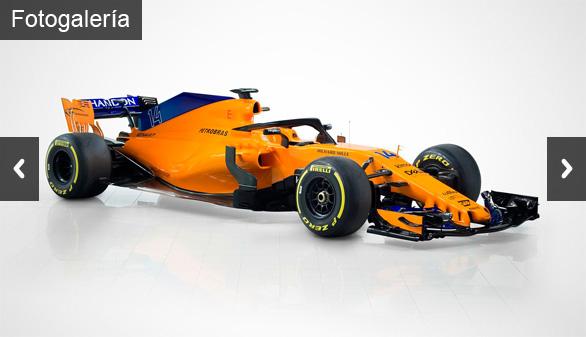 Así es el bólido con el que Fernando Alonso espera volver a 'volar'